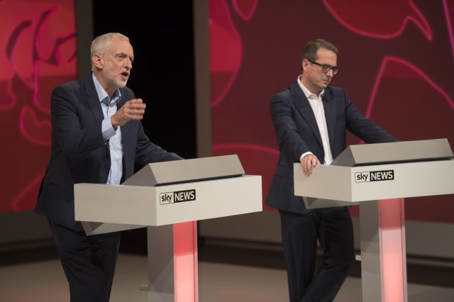 Labour Leadership Contenders Take Part In The Final Head To Head Debate