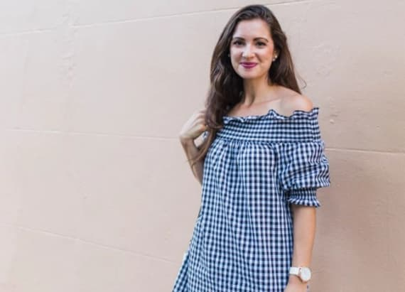 I think the gingham print is perfect for summer.