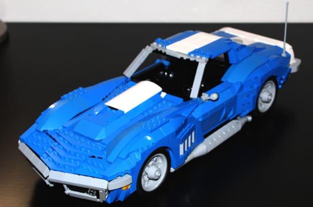 1969 Chevrolet Corvette Lego proposal