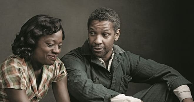 First Look at Denzel Washington and Viola Davis in Fences Movie