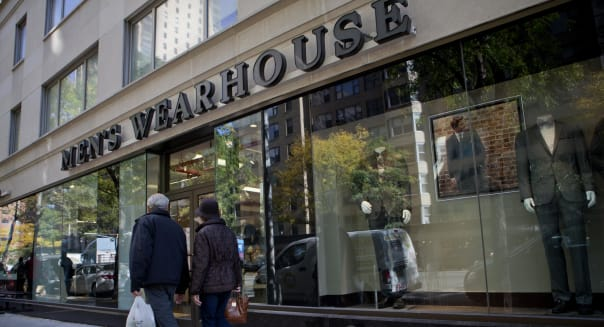 Men's Wearhouse turns tables with bid for Jos. A. Bank