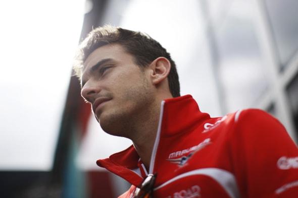 Jules Bianchi (FRA) Marussia F1 Team.22.08.2014. Formula 1 World Championship, Rd 12, Belgian Grand Prix, Spa Francorchamps, Belgium, Practice Day.