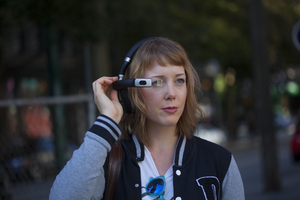 The Ora-X smart headphones include a flippable AR display