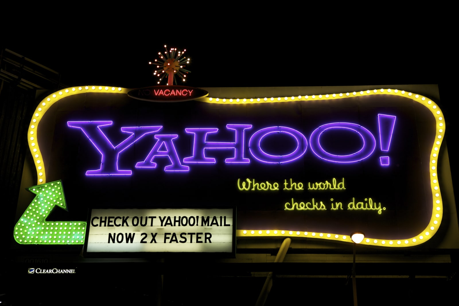 The Yahoo! Billboard, San Francisco