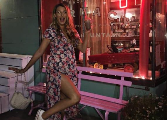 Social Scene: Blake Lively gets milkshakes