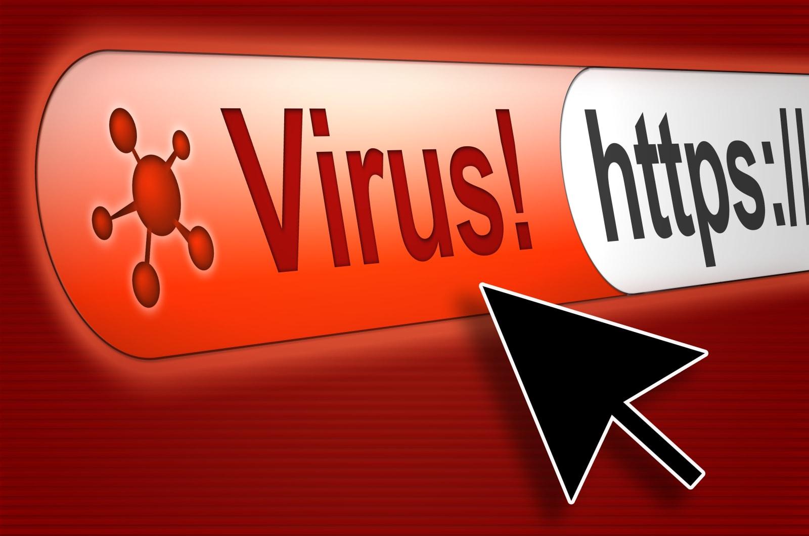 internet-virus-picture-id101377891