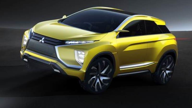 Mitsubishi to showcase eX crossover concept in Tokyo