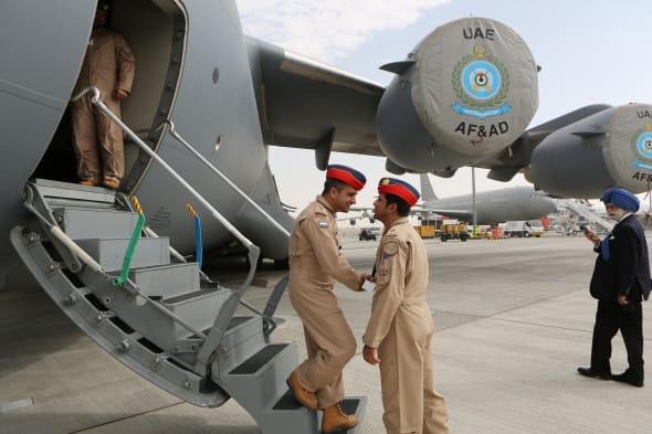 Mideast Emirates Dubai Airshow