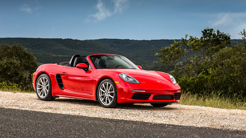 Call it a TurBoxster | 2017 Porsche 718 Boxster First Drive