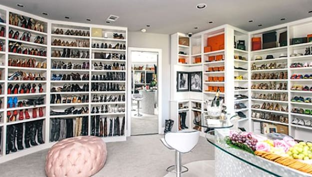 This Texas woman built a 3-story closet, and it's beautiful