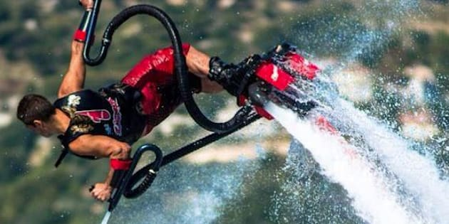 Franky Zapata interdit de voler avec son Flyboard Air en France