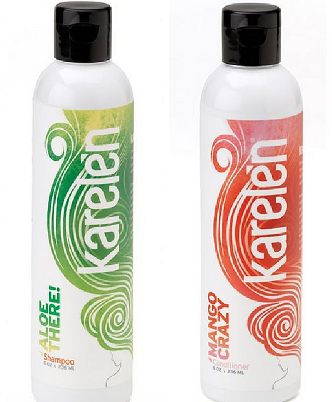 karelen conditioner and shampoo