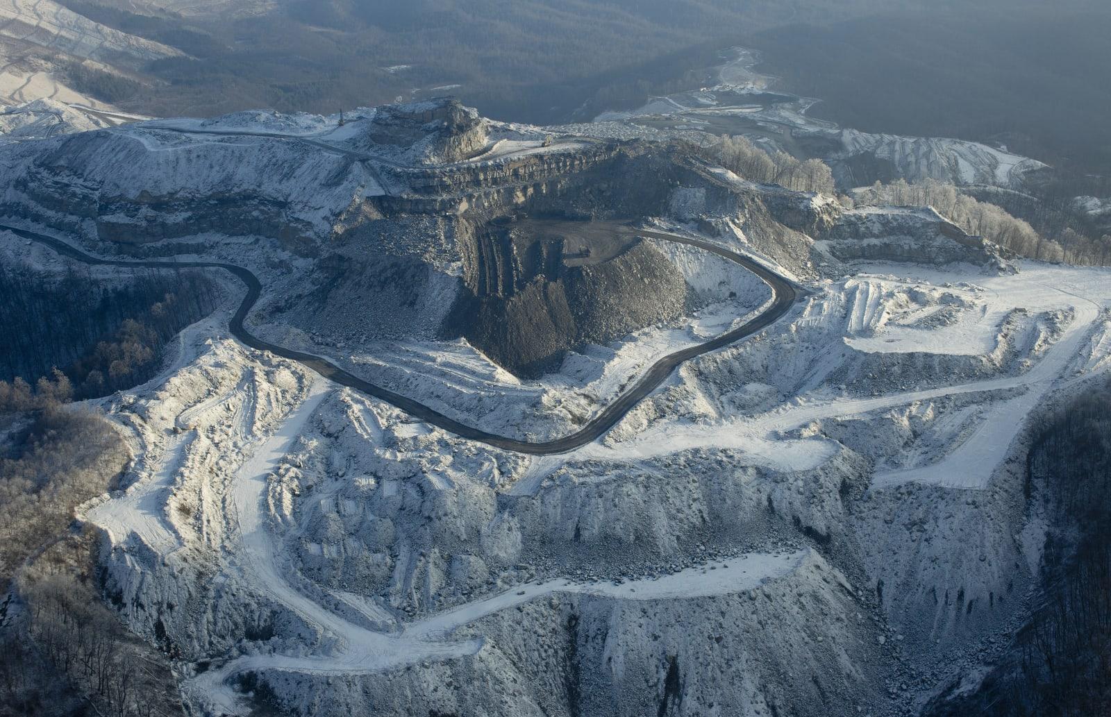West Virginia's coal country