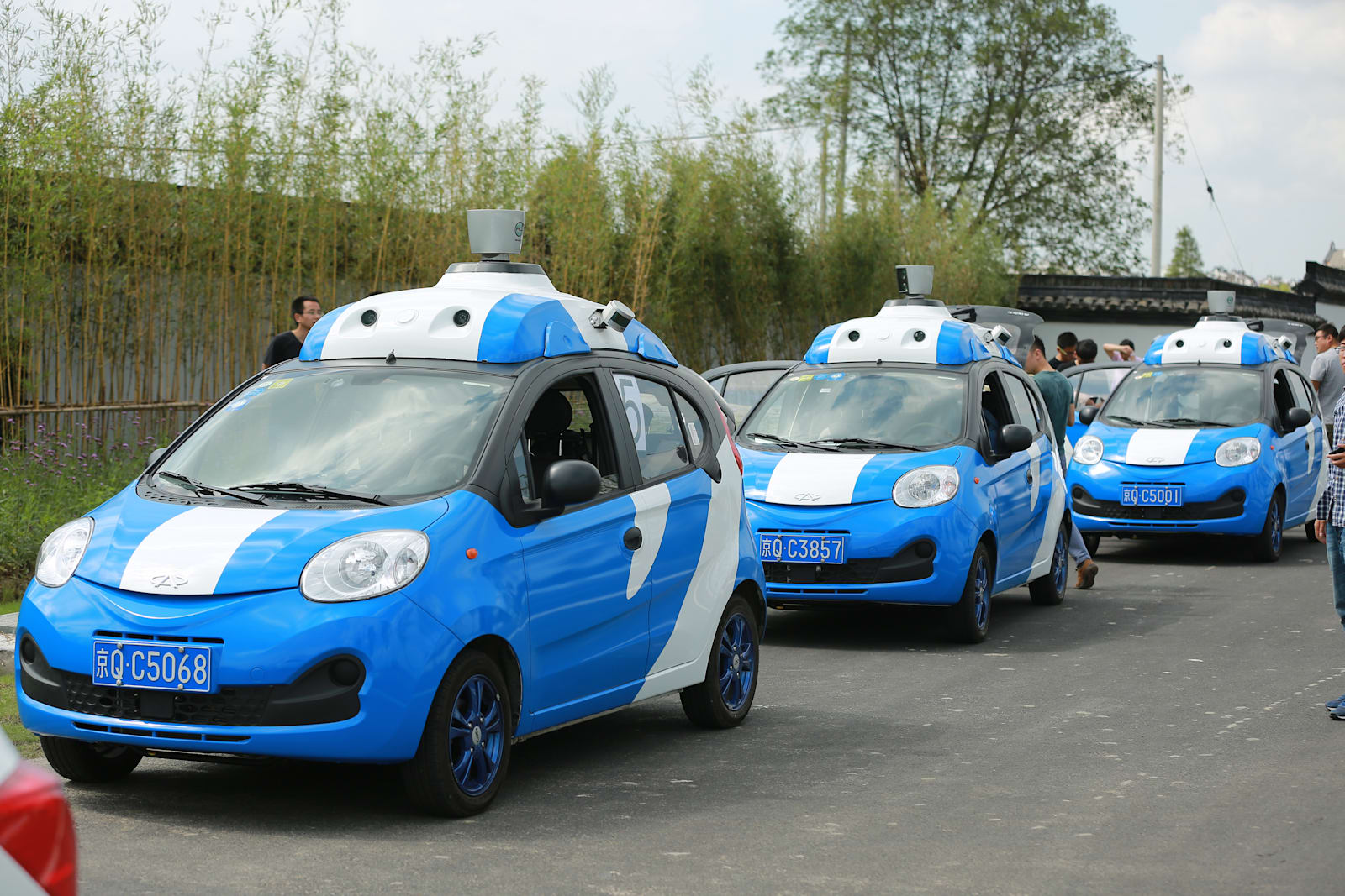 baidu-driverless-cars-in-test-run-during