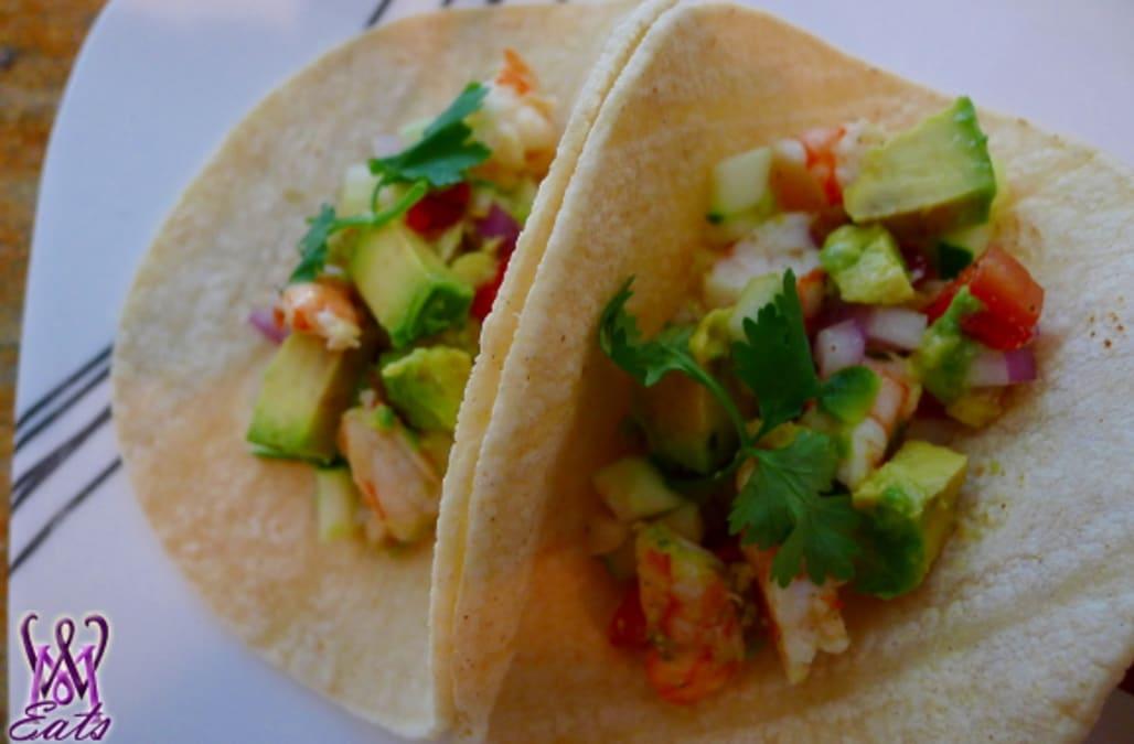 Avocado And Shrimp Ceviche Tacos - AOL.com