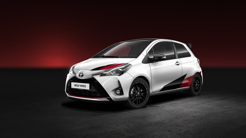 The Toyota Yaris will get a WRC-inspired hot hatch treatment (UPDATE)