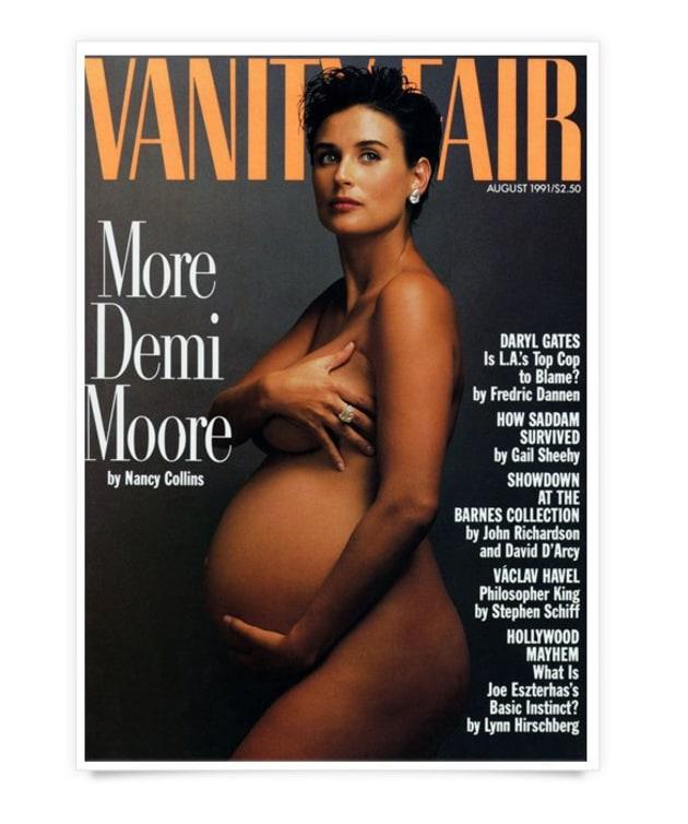 Serena nue en couv' de Vanity Fair