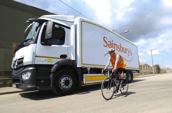 Sainsbury's lorry