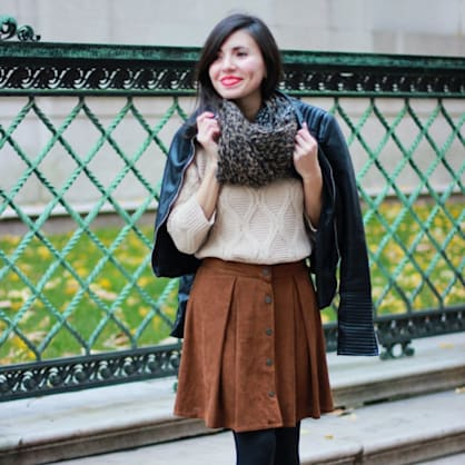 Street style tip of the day: Light layers