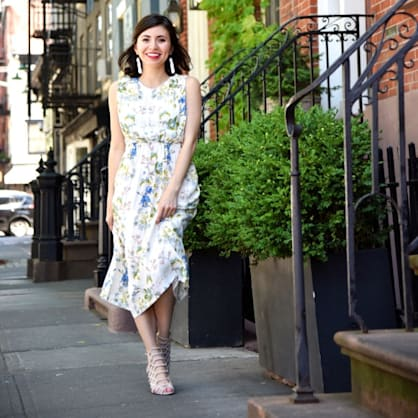 Street style tip of the day: Floral fever