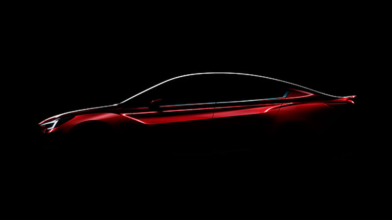 Subaru teases Impreza sedan concept for LA