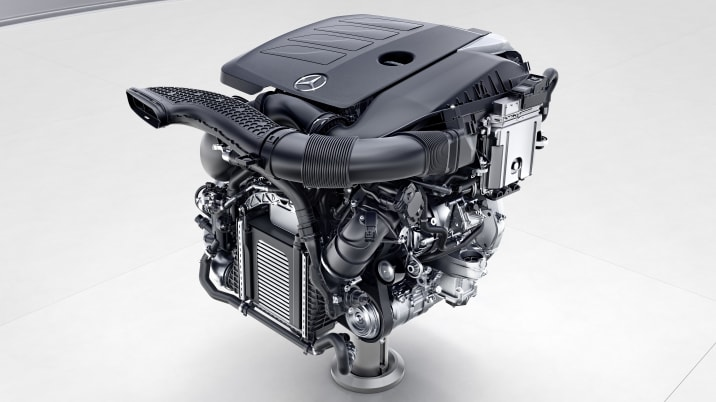 Mercedes-Benz Vierzylinder-Benzinmotor, M264 ; Mercedes-Benz four-Cylinder engine, M264;