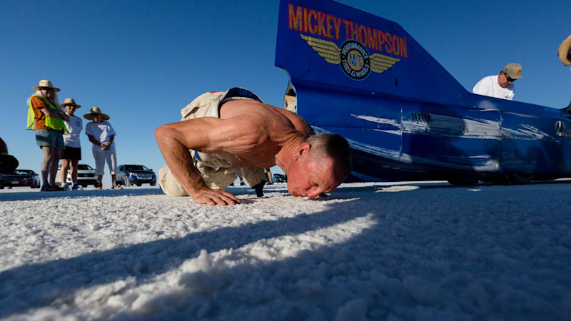 Danny Thompson honors father with land speed record at Bonneville
