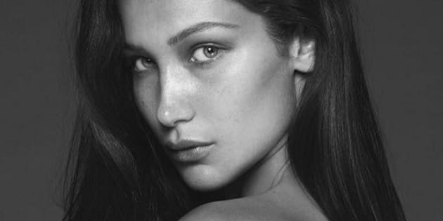 Bella Hadid Goes Nude For Her Vogue Paris Spread