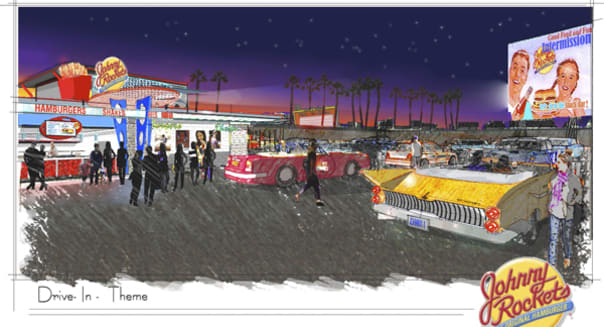 Johnny Rockets: Our Nostalgic Future Is at Drive-In Movies