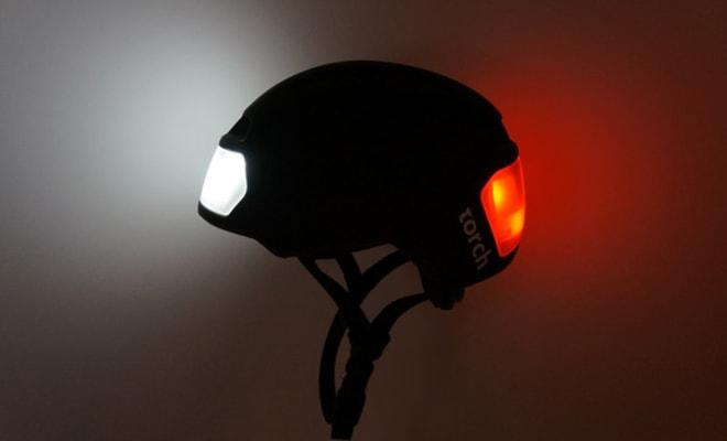 torch bike helmet with lights