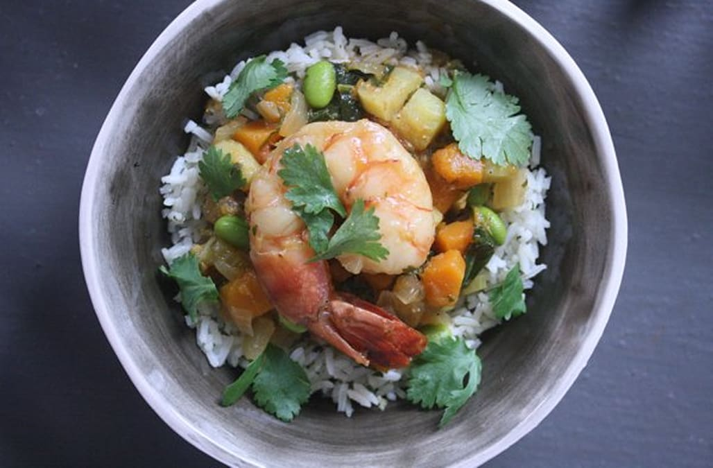 African Peanut Stew with Shrimp and Butternut Squash - AOL.com
