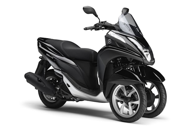 Yamaha Debuts Tricity 3 Wheel Scooter W Video