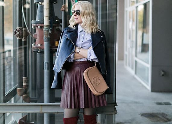 Having a moment: Over the knee boots