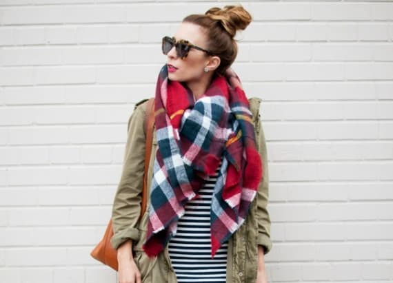 New ways to wear your flannel this fall