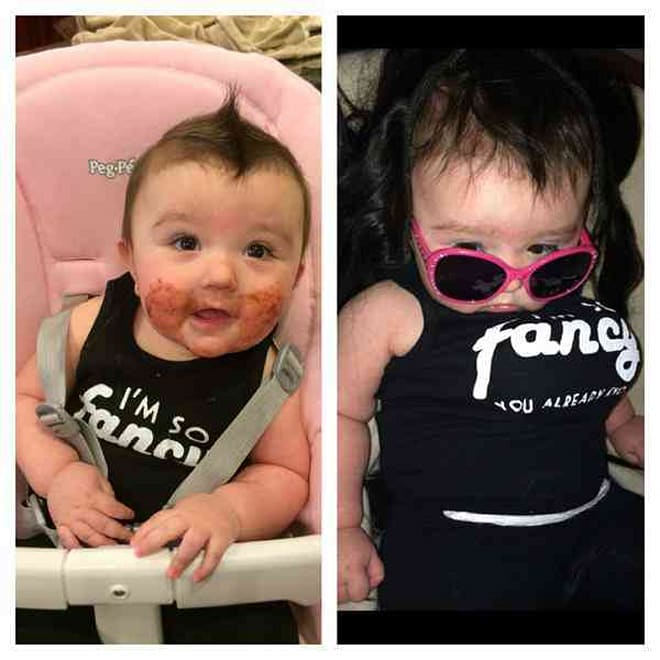 As for her transformation into her dad, the couple gave their daughter ... Jwoww Baby Girl Pictures