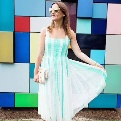 Street style tip of the day: Mint to be