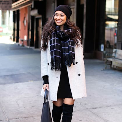 Street style tip of the day: Beanie
