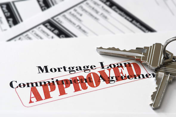 real estate mortgage approved...