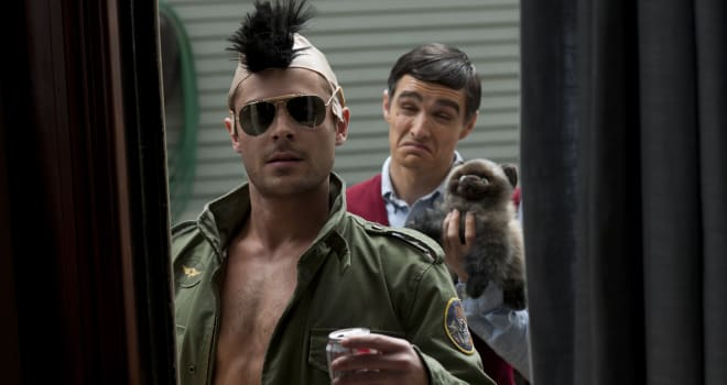 Zac Efron and Dave Franco in Neighbors