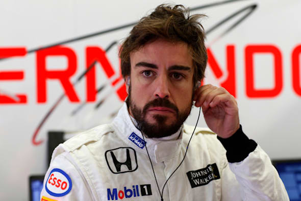 2015 F1 Pre Season Test 1 - Day 1Circuito de Jerez, Jerez, Spain.Friday 20 February 2015.Fernando Alonso, McLaren, in the garage.World Copyright: Alastair Staley/LAT Photographic.ref: Digital Image _79P3465