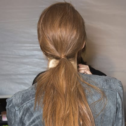 How to get the perfect ponytail every time