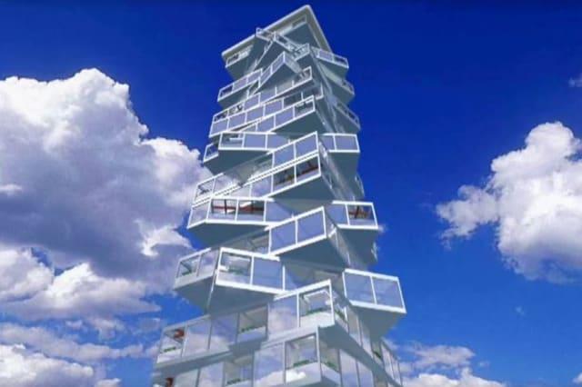 Rotating hotel planned for Dubai