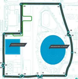 Formula E Beijing Track