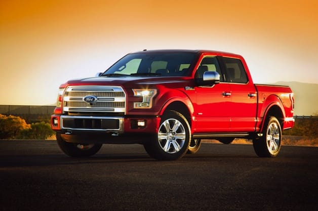 Ford F-150 and its new, largely aluminum body