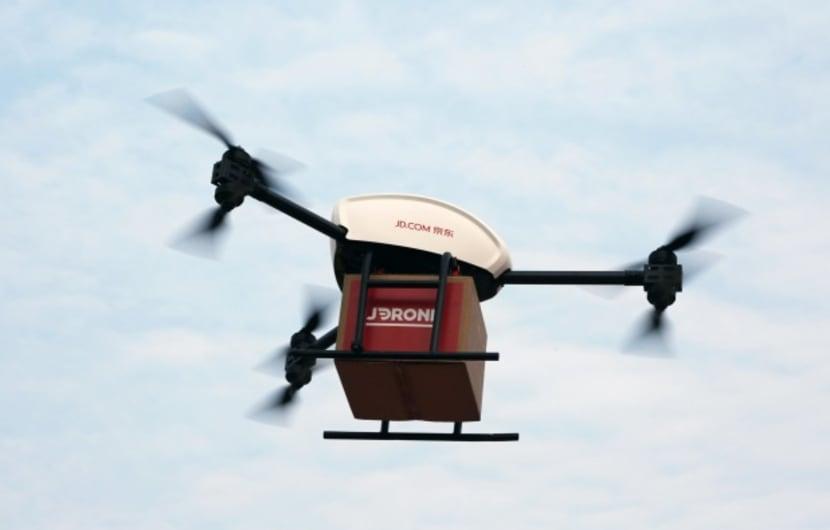 JD.com-Drohne