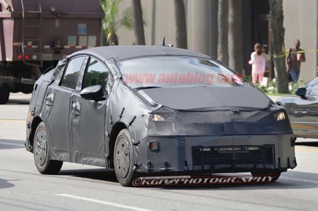 2015 Toyota Prius Spyshot