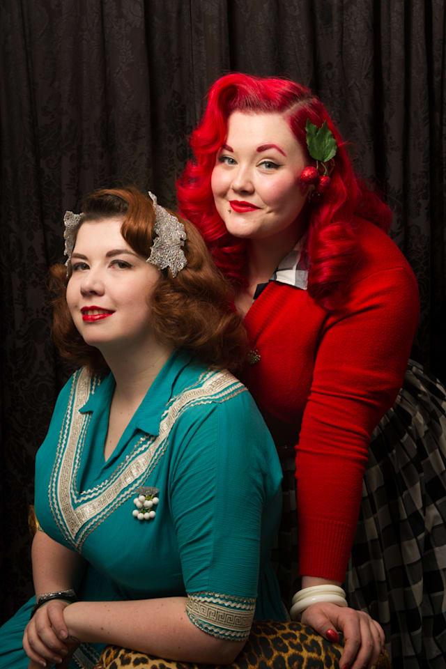 My Vintage Wardrobe: Andy Marsh and Siobhan O'Dwyer from Collectif, give us a sneak peak into their amazing vintage wardrobe.
