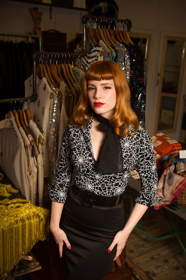My Vintage Wardrobe: German Pin up star Vanessa Frankenstein gives us a sneak peak into her amazing vintage wardrobe at the new Scarlet Rage in Camden.
