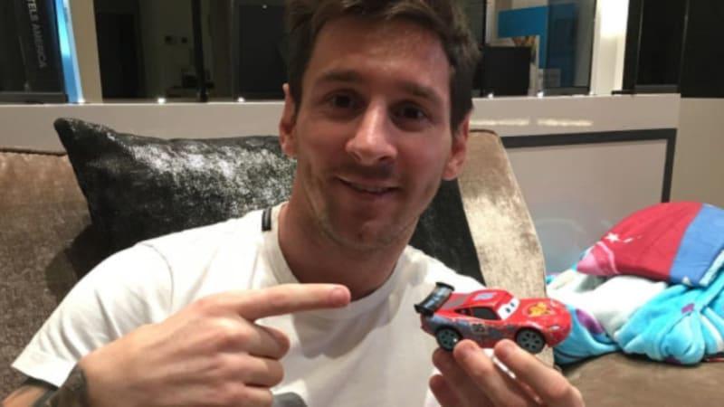 Lionel Messi jokes about rumors he bought 1957 Ferrari 335S