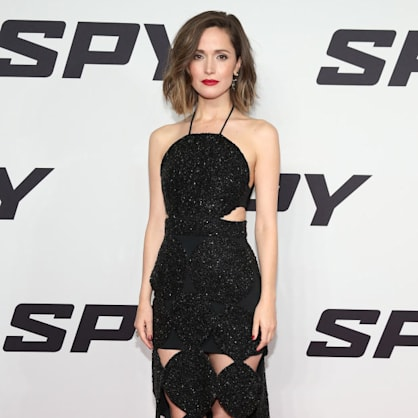 Rose Byrne looks classy in cut-outs